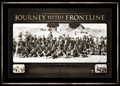 Anzac Journey to the Frontline 394 x 282