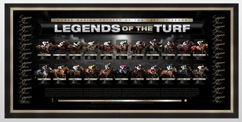 legends of the Turf signed