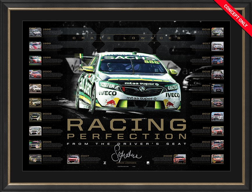 1. S5894 Craig Lowndes 2018 In His Words 4 ordered