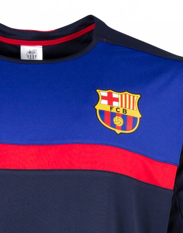 FC Barcelona Mens Supporter Tee logo copy copy