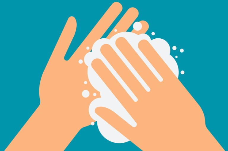 hand washing image
