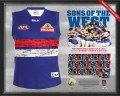1. AFL 2016 Premiership Team Signed Guernsey_MOCK_Dogs