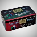 1.CASINO STYLE TEXAS HOLD EM POKER SET BOX