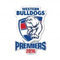 2016 Western Bulldogs AFL Premiership Lapel Pin