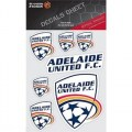 ADELAIDE UNITED SOCCER DECAL SHEET STICKER