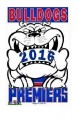 BULLDOGS 2016 WEG ART POSTER RS77