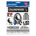 COLLINGWOOD STICKER SHEET AFL407KD