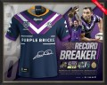 Cameron Smith 400 Game Record Breaker Signed Jersey 1295