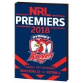 GF18 ROOSTERS WOODEN PLAQUE NRL18064A