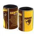 HAWTHORN TEAM SONG CAN COOLER