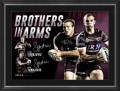 Manly-Sea-Eagles-Dual-Signed-Brothers-in-Arms-Framed- 499